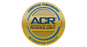 ACR Computed Tomography logo/seal