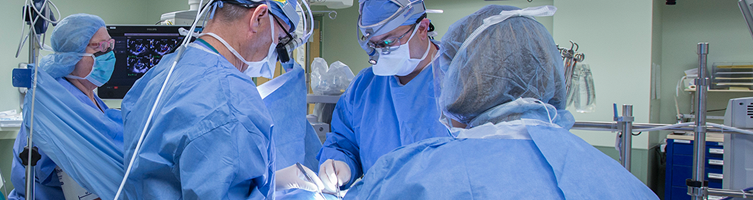 CMC surgeons on operating room