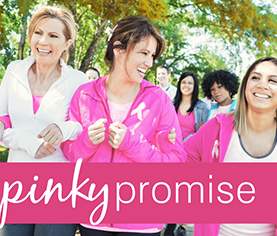 image of pinky promise: making strides against breast cancer walk