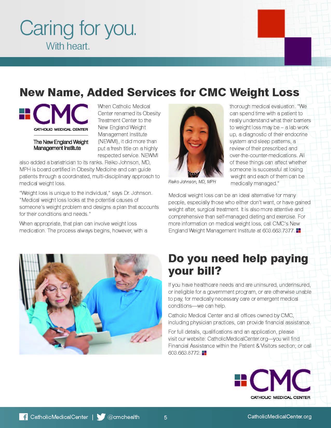 Weight Loss L Catholic Medical Center Catholic Medical Center